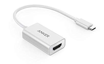 image of a usb c to hdmi adaptor cable for the htc vive equipment list