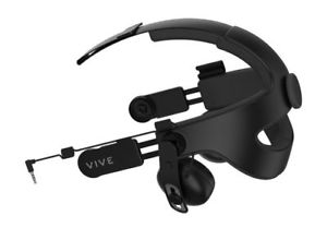 Image of Deluxe Vive Audio Strap, part of recommended HTC Vive VR eqiupment.
