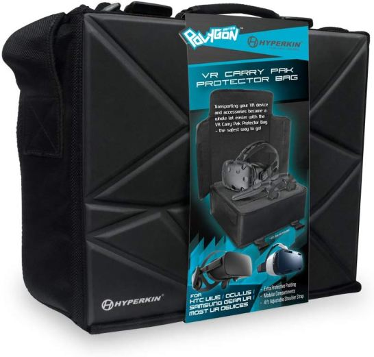 image of the vr protective bag used for the htc vive vr setup equipment